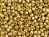 10 g 15/0 TOHO Seedbeads, Permanent Finish - Galvanized Starligh