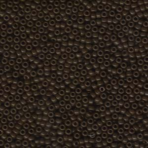 10 g 11/0 Seedbeads, Opaque Brown