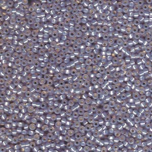 10 g 11/0 Seedbeads, Blue Grey