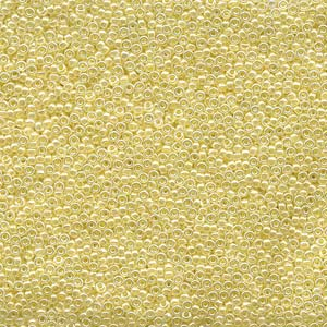 10 g 15/0 Seedbeads, Butter Cream Ceylon