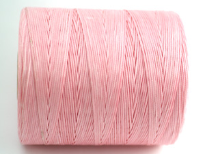 5 m vaxad bomull, 0,8 mm, pink