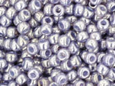 10 g 11/0 TOHO Seedbeads, Gold-lustered Pale Wisteria
