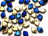 5 g Dragon Scale Beads, 1,5 x 5 mm, Jet California Blue