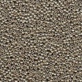 10 g 15/0 Seedbeads, Duracoat Galvanized Light Pewter