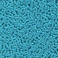 10 g 15/0 Seedbeads, Duracoat Opaque Dyed Blue Green