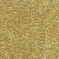 10 g 11/0 Seedbeads, Silverlined Pale Gold