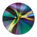 1 st swarovski Rivoli 1122, 14 mm, Crystal Rainbow Darkfilled
