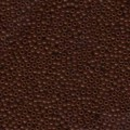 10 g 11/0 Seedbeads, Opaque Chocolate Brown