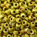 10 g 11/0 Seed Beads, Picasso Canary Yellow Matte