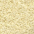 10 g Buglebeads, 3 mm, Matte Cream