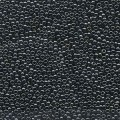10 g 15/0 Seedbeads, Light Gunmetal