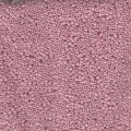 10 g 15/0 Seed Beads, Opaque Antique Rose Luster