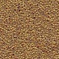 10 g 11/0 Seed Beads, Duracoat Galvanized Gold