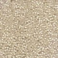 10 g 11/0 Seed Beads, Cream Silverlined