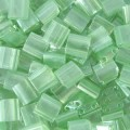5 g Tila Beads, Sea Foam Lustre