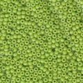 10 g 8/0 Seedbeads Opaque Chartreuse