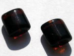 25 st Kuddar 8 x 7 mm  Smoked Topaz
