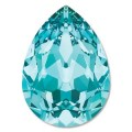 1 st Swarovski Pear 4320, 18 x 13 mm, Light Turquoise