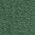 10 g 15/0 Seedbeads, Lined Green/teal Luster