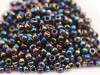 10 g 8/0 TOHO Seedbeads, Metallic Rainbow Iris