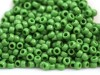 10 g 8/0 TOHO Seedbeads, Opaque Mint Green