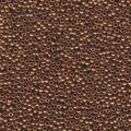 10 g 11/0 Seedbeads, Metallic Light Bronze