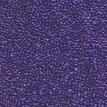 10 g 15/0 Seed Beads, Sparkling Violet Lined Crystal