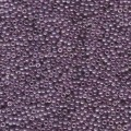 10 g 11/0 Seed Beads, Dark Amethyst Gold Luster