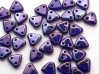30 st Czechmates Triangles 6 mm, Cobalt - Vega