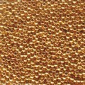 2 g 8/0 Seed Beads, 24 KT Gold Plated