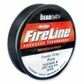 1 stor rulle, ca 118 m, Fireline Smoke 6 LB
