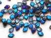 5 g Dragon Scale Beads, 1,5 x 5 mm, Crystal Azuro