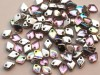 5 g Dragon Scale Beads, 1,5 x 5 mm, Crystal Silver Rainbow