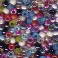 10 g 8/0 Seedbeads, Mix Spring Flowers