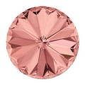 1 st swarovski Rivoli 1122, 12 mm, Blush Rose