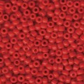 10 g 6/0 Seedbeads, Opaque Red