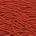 ca 17 g 11/0 Seedbeads, Red