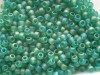 10 g 11/0 TOHO Seedbeads,Rainbow-Frosted Dark Peridot