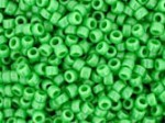 10 g 15/0 TOHO Seedbeads, Opaque Mint Green