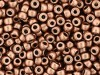 5 g Matubo Seedbeads 8/0, Matte Metallic Copper