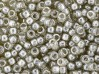 5 g Matubo Seedbeads 8/0, Luster Black Diamond