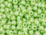 10 g 11/0 TOHO Seedbeads, Opaque-Lustered Sour Apple